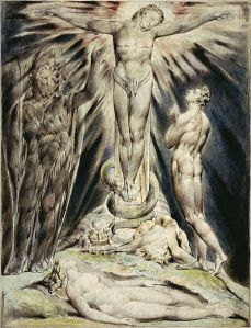 William Blake Michael Foretells the Crucifixion