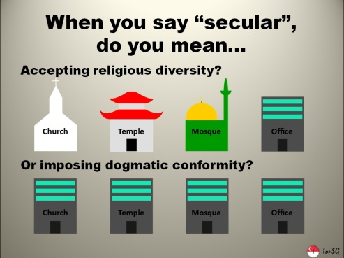 Image result for secular vs. religious
