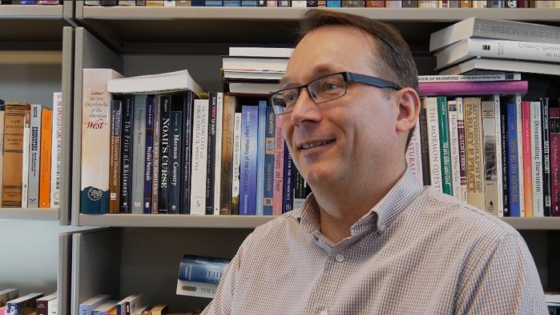 Dr. Paul Reeve - Prof of History, University of Utah.