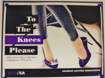 Image result for byu modesty on your knees poster