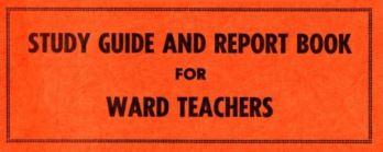 ward teachers