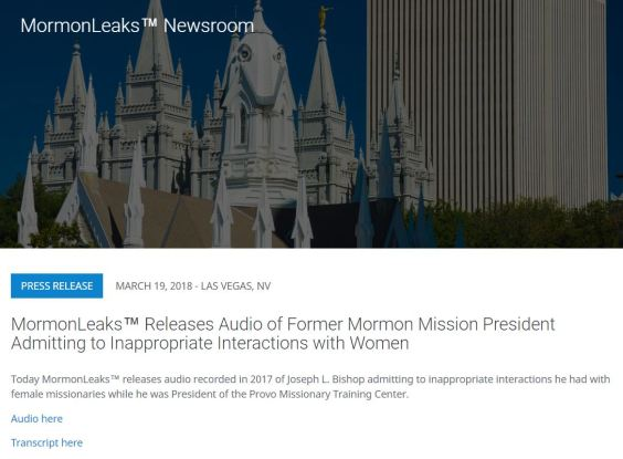 MormonLeaks-MTC President Audio Intro