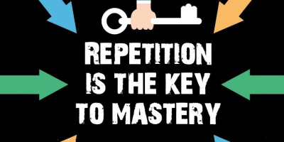 Do you feel repitition is the key to mastery? What are we mastering when we hear the same temple rituals over and over?