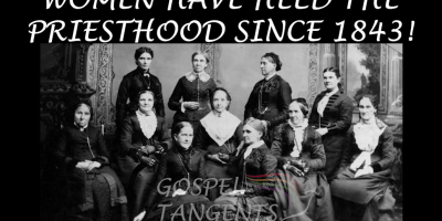 Dr. Michael Quinn says women receive priesthood through temple endowment.