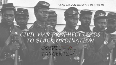 William Bickerton was a big fan of Joseph's Civil War prophecy, and his church never had a black ban. They were the first Mormon group to have a black apostle in the early 1900s.