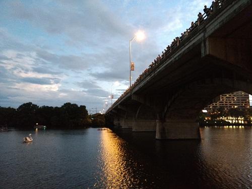 Congress Bridge in Austin, Texas