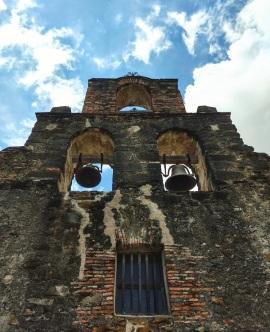 Facade of the Mission Espada Chapel