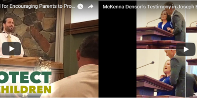2 visitors protested during Fast & Testimony meeting this past weekend