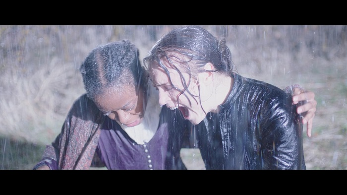 Jane and Emma, title characters in the movie, weather a storm