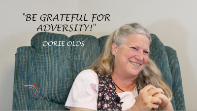 Dorie Olds has suffered more adversity than most with her marriage to bomber/forger Mark Hofmann. Would you be able to come out the same as she did, being grateful for the adversity she went through?