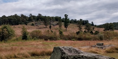 Little Round Top in Gettysburg National Military Park