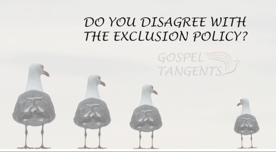 Whether it's a faith crisis, bad bishop's interviews, or the Policy of Exclusion, all of these tough conversations exclude people in one way or another.