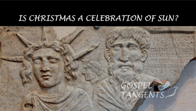 Dr. Jeff Chadwick thinks it is reasonable that Christians re-purposed a pagan holiday for Christmas.