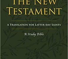 Thomas Wayment's Study BIble for Latter-day Saints is amazing!