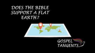 Biblical prophets believed the earth was flat.