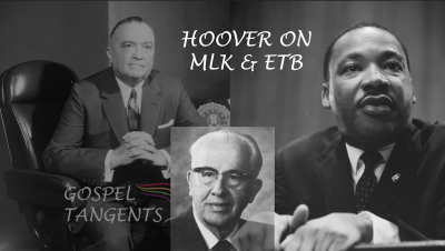 Ezra Taft Benson was a fan of FBI director J. Edgar Hoover, but the admiration was NOT mutual!