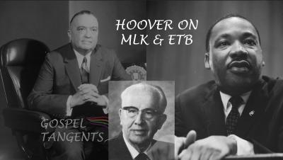Ezra Taft Benson was a fan of FBI director J. Edgar Hoover, but the admiration was NOT mutual!
