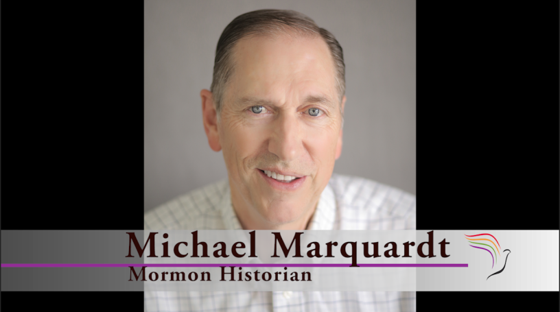 Michael Marquardt says the official narrative on the founding of the Church may not be correct.