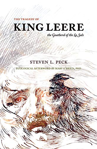 illustrated book cover for Steven L. Peck's The Tragedy of King Leere