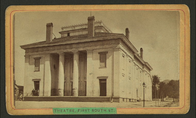 Photograph of the Salt Lake Theater