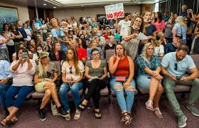 In separate rallies, Utahns protest mask mandate and demand in ...